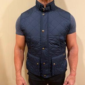 Polo by Ralph Lauren navy blue vest size L